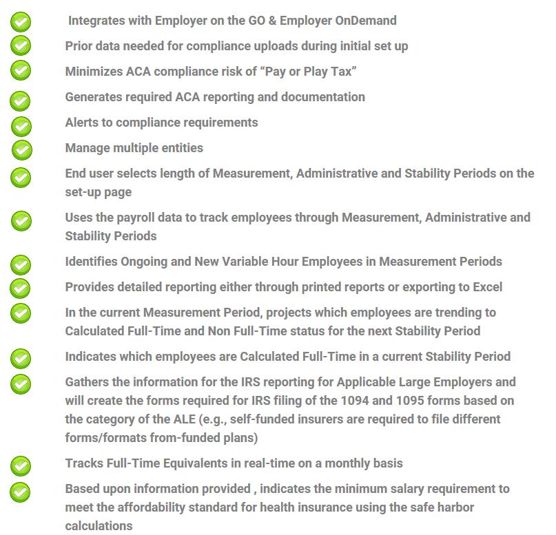 ACA Reporting – Sharp Payroll, Inc.